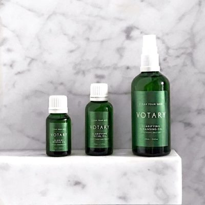 Calm and heal your blemished skin.