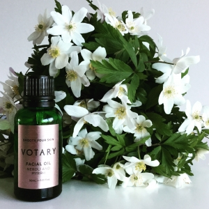 Votary plant facial oils deeply hydrate and nourish