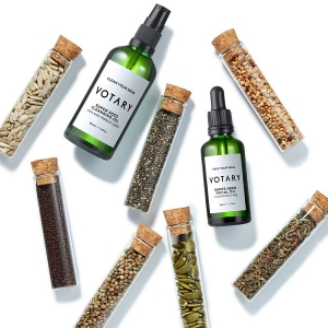 Votary Super Seed range is made from 22 different seed oils and is health food for your skin
