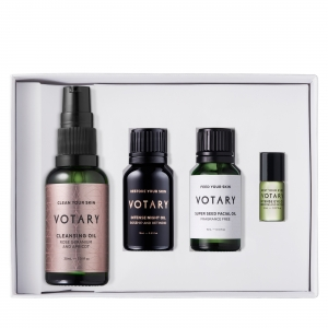 Votary ready-to-go deluxe travel skincare set