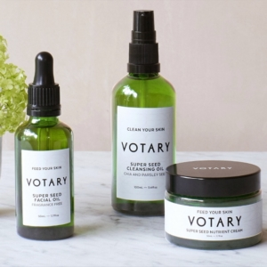 Votary Super Seed range nourishes unsettled skin at different life stages