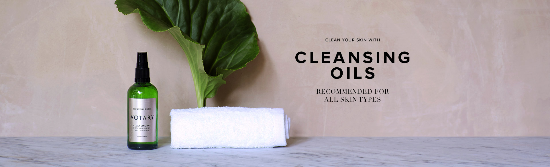 Clean Your Skin with Cleansing Oils - Recommended for All Skin Types
