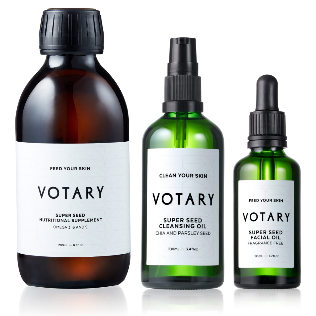 Feed and Calm Your Sensitive Skin with Votary Super Seed Set