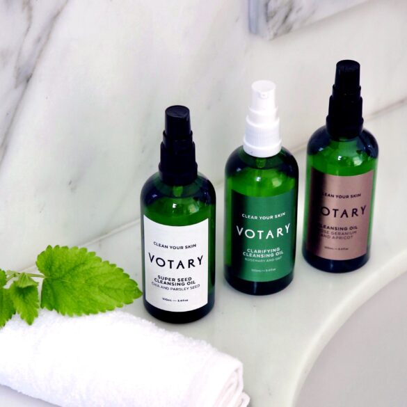 Votary oil cleansing method. Transform your skin