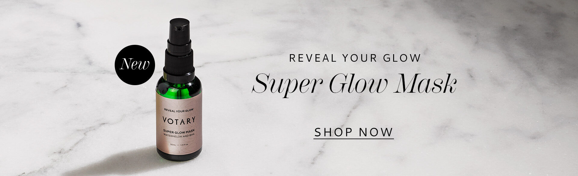 NEW Super Glow Mask. Reveal your brightest, smoothest skin