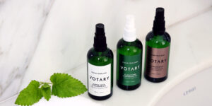 VOTARY cleansing oils work brilliantly as a makeup remover for sensitive eyes.